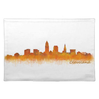 Cleveland Ohio the USA Skyline City v02 Placemat