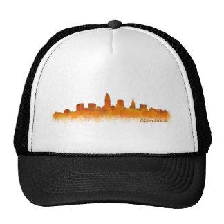 Cleveland Ohio the USA Skyline City v02 Trucker Hat
