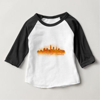Cleveland Ohio the USA Skyline City v03 Baby T-Shirt