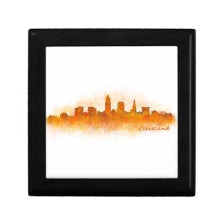 Cleveland Ohio the USA Skyline City v03 Gift Box