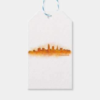 Cleveland Ohio the USA Skyline City v03 Gift Tags