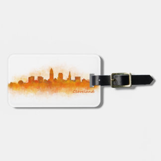 Cleveland Ohio the USA Skyline City v03 Luggage Tag