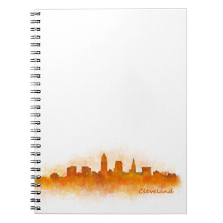 Cleveland Ohio the USA Skyline City v03 Notebooks