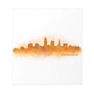 Cleveland Ohio the USA Skyline City v03 Notepad