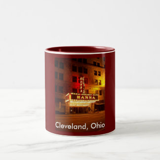 Cleveland, Ohio Two-Tone Coffee Mug