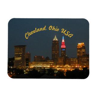 Cleveland Ohio USA (Curve) Magnet