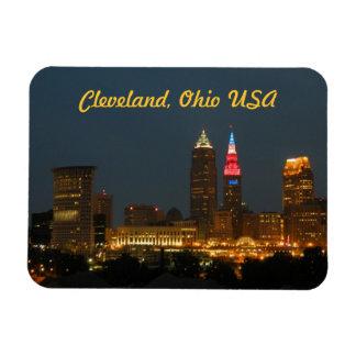 Cleveland,Ohio USA Photo Magnet