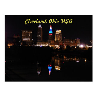 Cleveland, Ohio USA (River Reflection) Postcard