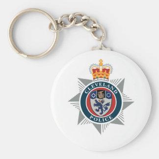 Cleveland Police Souvenir Basic Round Button Keychain