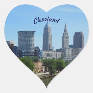 Cleveland River View Sticker