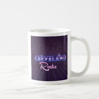 Cleveland Rocks 80's Style Coffee Mug