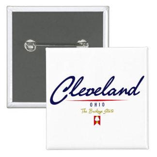 Cleveland Script Button