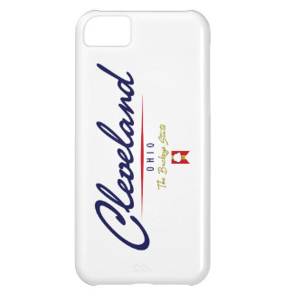 Cleveland Script iPhone 5C Cover