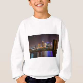 Cleveland Skyline at Night Sweatshirt