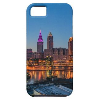 Cleveland Skyline at Sunset iPhone 5 Cases