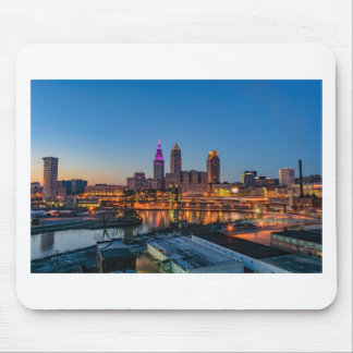Cleveland Skyline at Sunset Mouse Pad