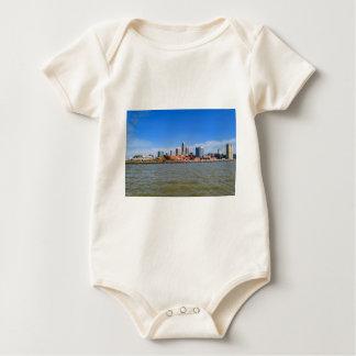 Cleveland Skyline Baby Bodysuit