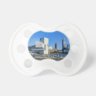 Cleveland Skyline Baby Pacifier