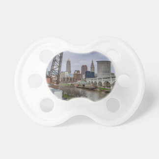 Cleveland Skyline Baby Pacifiers