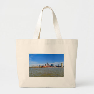 Cleveland Skyline Large Tote Bag