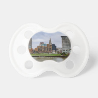 Cleveland Skyline Pacifier