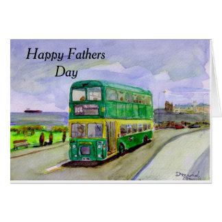 Cleveland Transit Bristol VRT Fathers Day card. Card