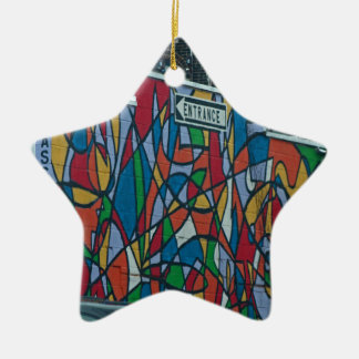 Cleveland's West Side II Ceramic Star Ornament