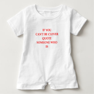 CLEVER BABY ROMPER
