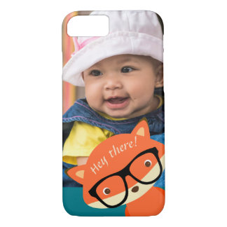 """Clever Fox """"Photo Bomb"""" iPhone 8/7 Case"""
