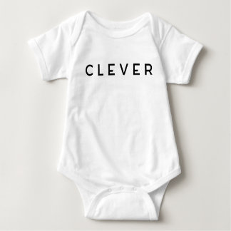 CLEVER's 'Little Ones Jumper' Baby Bodysuit