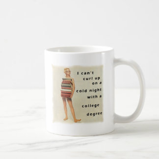 Clever sexist design classic white coffee mug