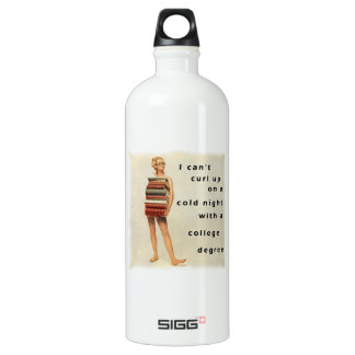 Clever sexist design SIGG traveler 1.0L water bottle