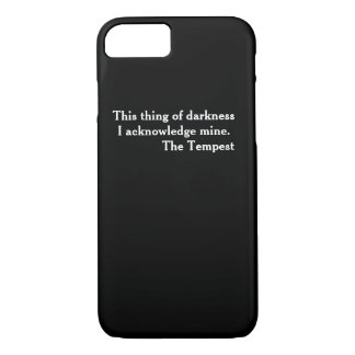 Clever Shakespeare literary Phone Case The Tempest
