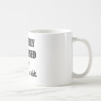 Cleverly Disguised As a Responsible Adult Classic White Coffee Mug