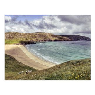 Clibhe Beach Outer Hebrides Postcard
