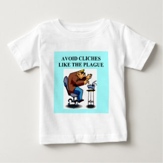 CLICHE joke for writers and authors T-shirts