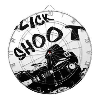 Click click shoot dartboard