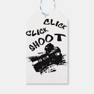 Click click shoot gift tags