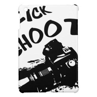 Click click shoot iPad mini cases