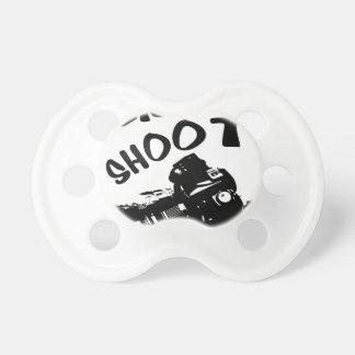 Click click shoot pacifier