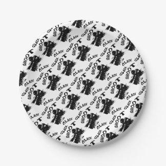 Click click shoot paper plate