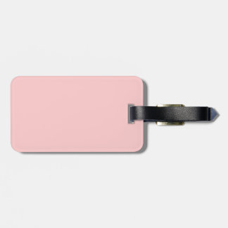 Click CUSTOMIZE > EDIT > Background Choose COLOR Luggage Tag