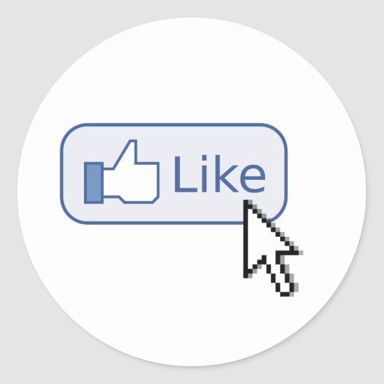 "Click on ""like"" Stickers"