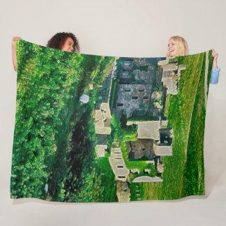 Clifden Castle, Ireland Acrylic Art Fleece Blanket