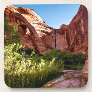 Cliff Arch Sunrise - Coyote Gulch - Utah Drink Coaster