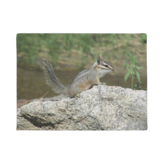 Cliff Chipmunk Doormat