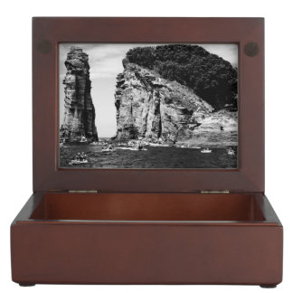 Cliff Diving event Keepsake Box