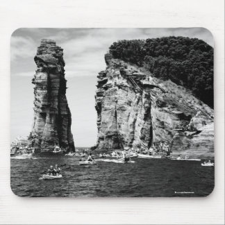 Cliff Diving event Mouse Pad