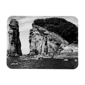 Cliff Diving event Rectangular Photo Magnet