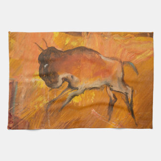 Cliff Dwellers Buffalo Kitchen Towel